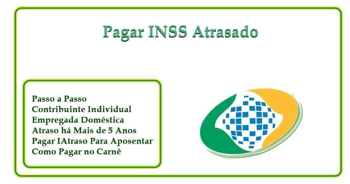 Pagar INSS em Atraso